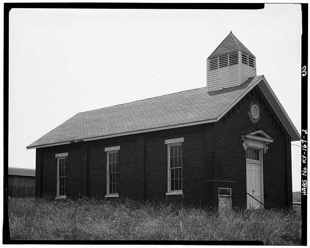 2.  EAST SIDE - Peter Taylor Chapel, State Route 8, Vanceburg, Lewis County, KY