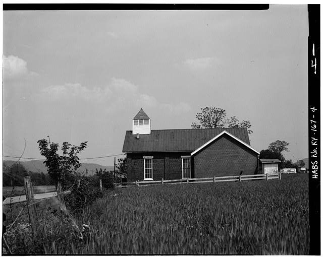 4.  WEST SIDE - Peter Taylor Chapel, State Route 8, Vanceburg, Lewis County, KY
