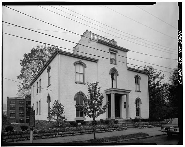 2.  SOUTH (FRONT) AND WEST SIDE ELEVATIONS - Daniel Carter Beard House, 322  East Third Street, Covington, Kenton County, KY