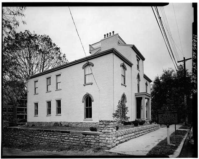 3.  SOUTH (FRONT) AND WEST SIDE ELEVATIONS - Daniel Carter Beard House, 322  East Third Street, Covington, Kenton County, KY