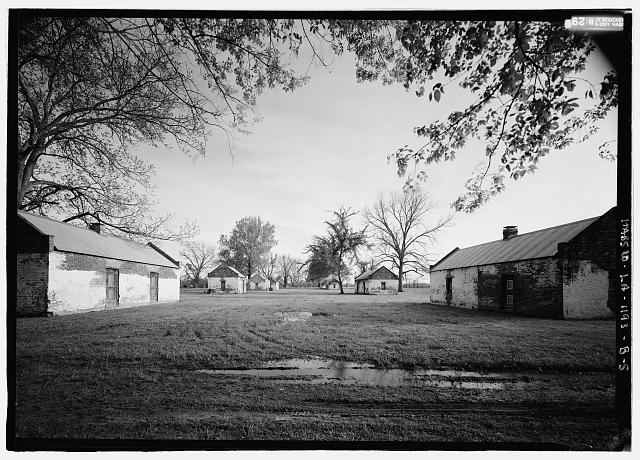 5.  View looking from the north - Magnolia Plantation, Slave Quarters, LA Route 119, Natchitoches, Natchitoches Parish, LA