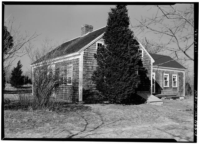 1.  VIEW FROM THE SOUTHEAST - Isaiah Doane House, Nauset Road, Eastham, Barnstable County, MA