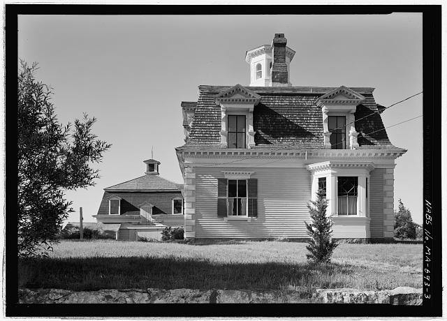 3.  VIEW FROM THE NORTH - Captain Edward Penniman House, Fort Hill Road, Eastham, Barnstable County, MA