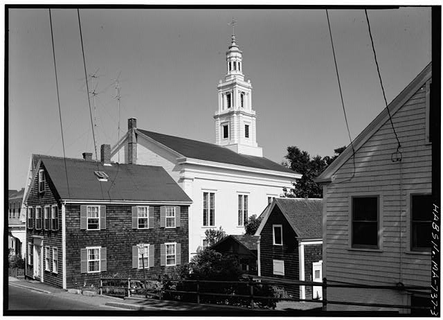 3.  VIEW FROM THE WEST - Church of the Redeemer, 236 Commercial Street, Provincetown, Barnstable County, MA