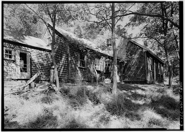 3.  VIEW FROM THE SOUTHWEST - Stephen Snow House, South Pamet Road, Truro, Barnstable County, MA