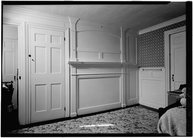 3.  CORNER OF EAST ROOM - William P. Snow House, South Pamet Road, Truro, Barnstable County, MA