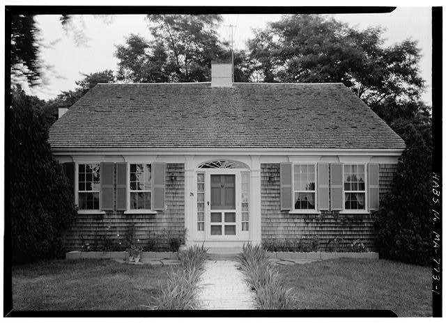 1.  VIEW FROM THE SOUTHWEST - Joseph Freeman House, Old Truro Road, Wellfleet, Barnstable County, MA