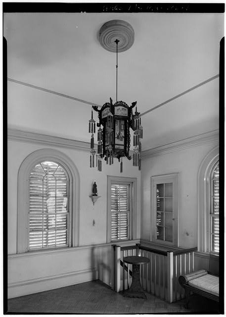 9.  INTERIOR, SECOND FLOOR, FROM THE SOUTHWEST - Derby Summer House, Glen Magna Estate (moved from Elias Derby Farm, Peabody, MA), Danvers, Essex County, MA