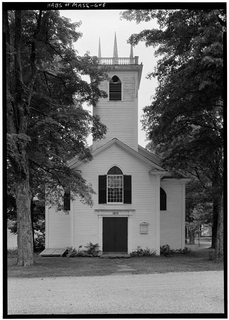 1.  Historic American Buildings Survey Cervin Robinson, Photographer September 1959 FRONT FACADE FROM EAST - St. John's Episcopal Church, Main Street & Baptist Corner Road, Ashfield, Franklin County, MA
