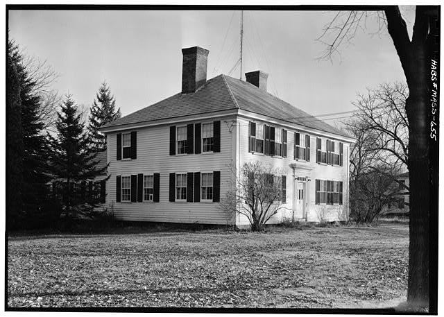 1.   November 1959 EXTERIOR FROM NORTH WEST - White-Field House, Main & Maple Streets, Northfield, Franklin County, MA