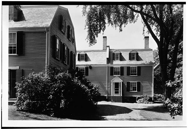 3.  Historic American Buildings Survey Charles E. Peterson, Photographer August 18, 1954 EAST SIDE - Adams Mansion, 135 Adams Street, Quincy, Norfolk County, MA