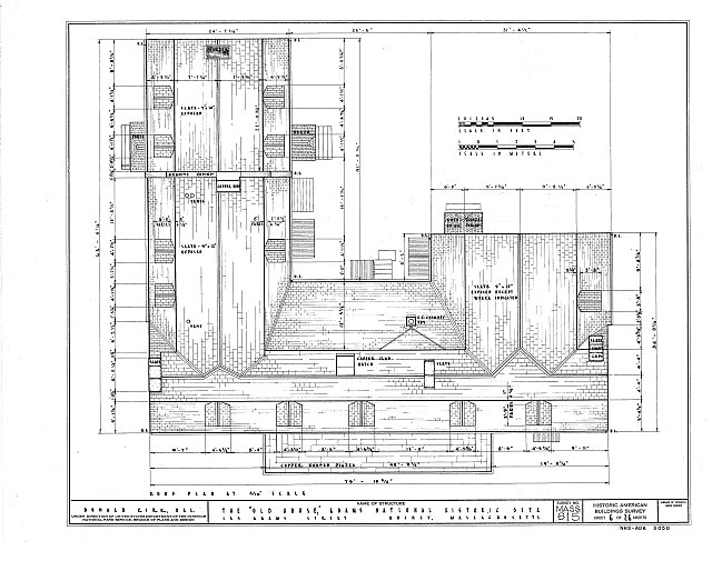 HABS MASS,11-QUI,5- (sheet 6 of 26) - Adams Mansion, 135 Adams Street, Quincy, Norfolk County, MA