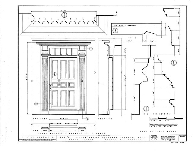 HABS MASS,11-QUI,5- (sheet 11 of 26) - Adams Mansion, 135 Adams Street, Quincy, Norfolk County, MA