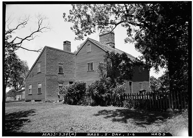 6.  Historic American Buildings Survey Frank O. Branzetti, Photographer June 20, 1940 (a) EXT. VIEW OF HOUSE, LOOKING NORTHEAST - Rebecca Nurse Place, 149 Pine Street, Danvers, Essex County, MA