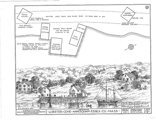 HABS MASS,5-ANNI,3- (sheet 4 of 6) - Lobster Cove, Annisquam, Essex County, MA