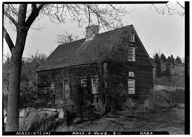 1.  Historic American Buildings Survey Frank O. Branzetti, Photographer Nov. 19, 1940 (a) EXT.-FRONT AND SIDE, LOOKING NORTH - Jackman-Willett House, Lower Green vicinity (moved from original site), Newbury Old Town, Essex County, MA
