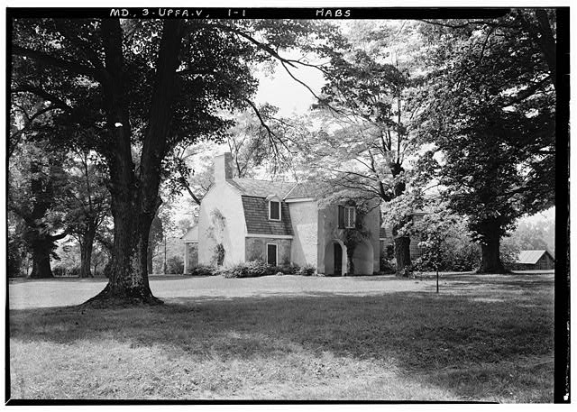 1.  Historic American Buildings Survey E. H. Pickering, Photographer June 1936 NORTH FRONT. OWNER MR. RUMSEY - Orwell, Franklinville Road, Franklinville, Baltimore County, MD