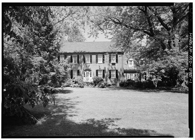 3.  GENERAL VIEW OF SOUTH ELEVATION - Beall's Pleasure, Landover Road Vicinity, Landover, Prince George's County, MD