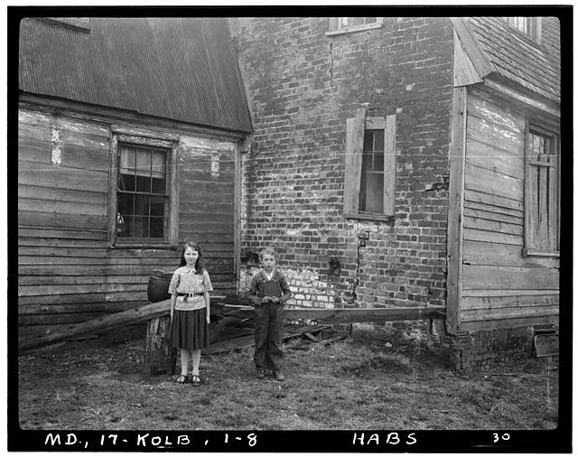 8.  Historic American Buildings Survey Delos H. Smith, Photographer 1936 - Friendship, Kolbies Corner, State Routes 214 & 556, Largo, Prince George's County, MD