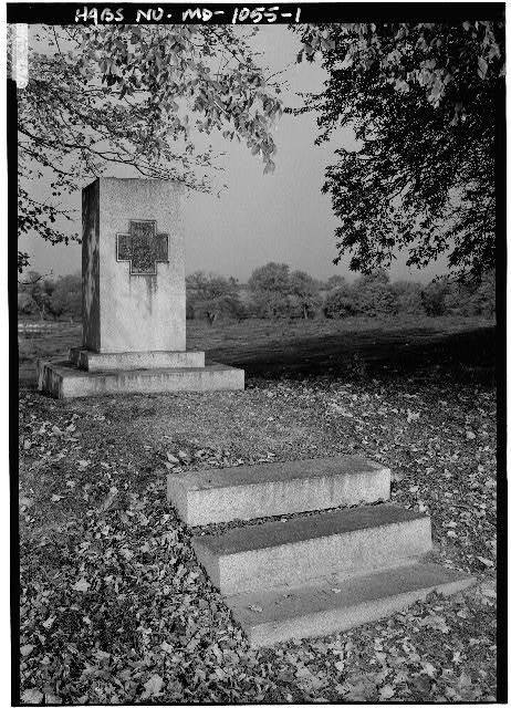 1.  PERSPECTIVE VIEW FROM SOUTHEAST - Tenth Vermont Infantry Monument, Araby Church Road & Baker Valley Road, Frederick, Frederick County, MD