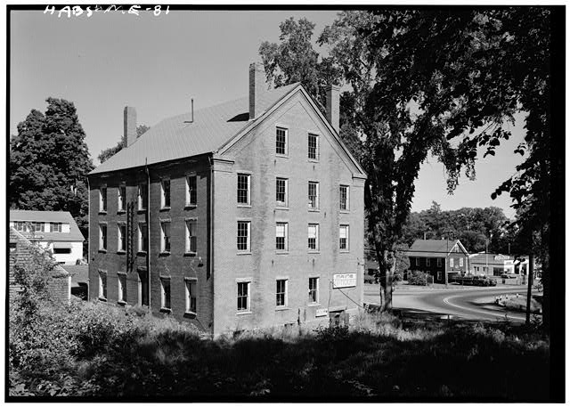 1.  Historic American Buildings Survey Cervin Robinson, Photographer August 1960 SOUTH AND WEST ELEVATIONS - William T. Glidden-Austin Block, Intersection of U.S. Route 1 (Main Street) & State Route 215 (River Street), Newcastle, Lincoln County, ME