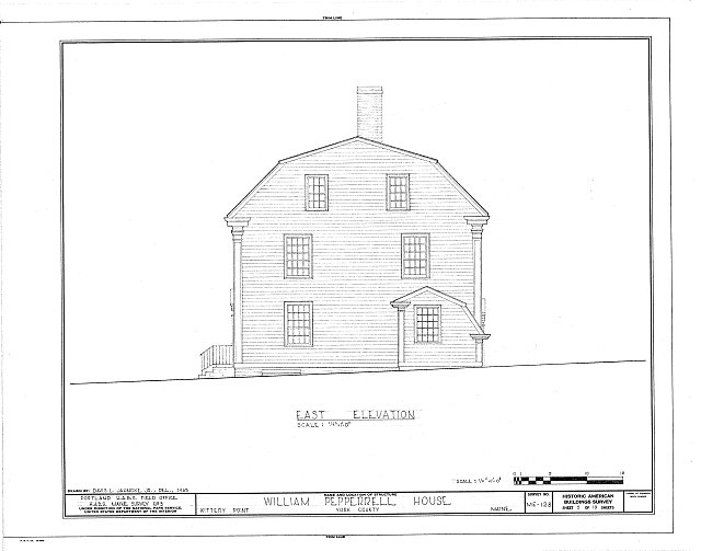 HABS ME,16-KITPO,4- (sheet 5 of 10) - William Pepperrell House, State Route 103, Kittery Point, York County, ME