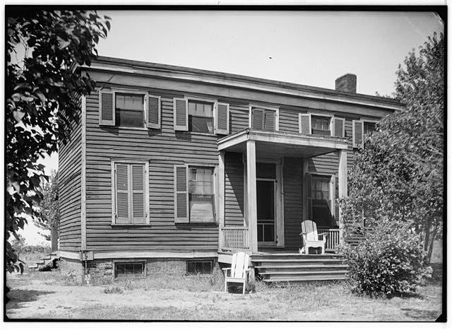 1.  Historic American Buildings Survey, Theodore LaVack, Photographer. September - 1936. - McKibben House, Overland, St. Louis County, MO