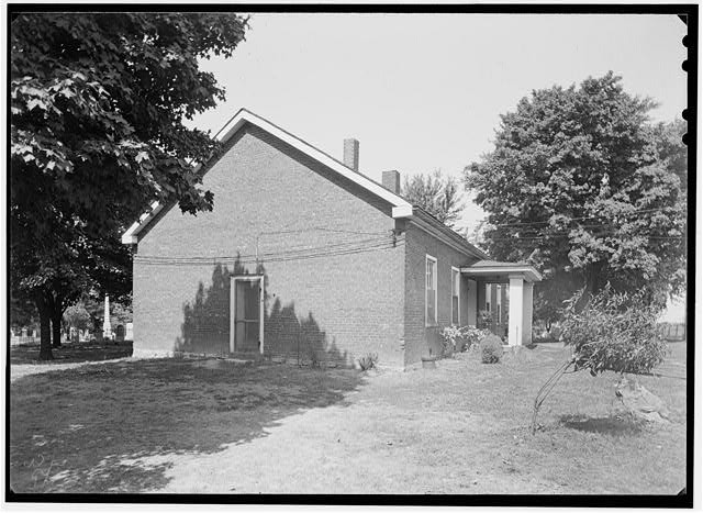 2.  Historic American Buildings Survey, Theodore LaVack, Photographer. September, 1936. - Fee Fee Church, Fee Fee Road, Pattonville, St. Louis County, MO