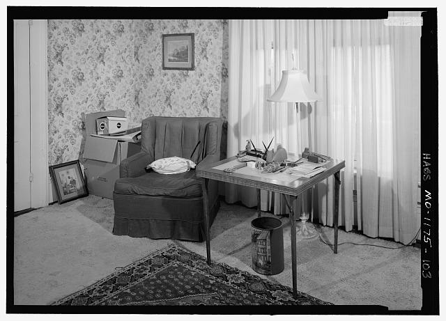 Northwest Bedroom (207), second floor, southwest corner from the northeast - Harry S. Truman House, 219 North Delaware Street, Independence, Jackson County, MO