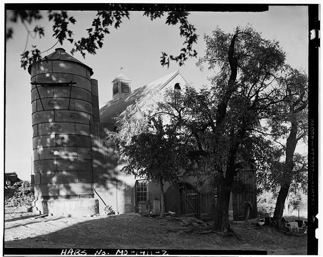 2.  BARN WITH SILO - Busch House & Barn, Washington, Franklin County, MO