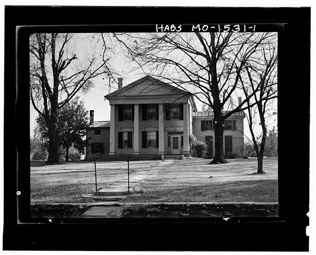1.  EXTERIOR - John Warden Russell House, Palmyra, Marion County, MO