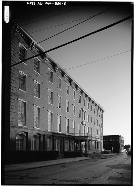5.  GENERAL VIEW FROM NORTHEAST - Patee House Hotel, South Twelfth & Penn Streets, Saint Joseph, Buchanan County, MO