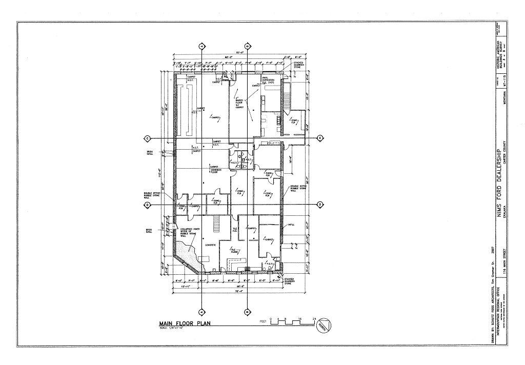 Main floor plan nims ford dealership 116 north main for How does a dealer floor plan work