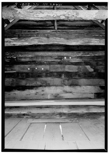 Interior - Pioneer Farmstead, Meat House, U.S. Route 441 (moved from NC, Cataloochee), Cherokee, Swain County, NC