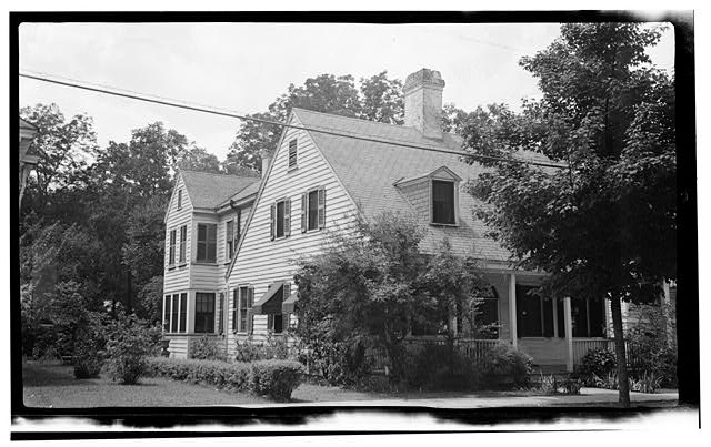 1.  Historic American Buildings Survey, Thomas T. Waterman, Photographer July, 1940. - Lee House, 507 Middle Street, New Bern, Craven County, NC
