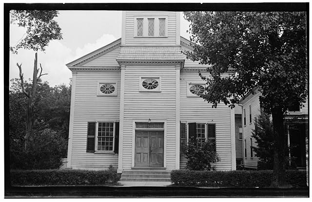 1.  Historic American Buildings Survey, Thomas T. Waterman, Photographer July, 1940. - St. Paul's Roman Catholic Church, 510 Middle Street, New Bern, Craven County, NC