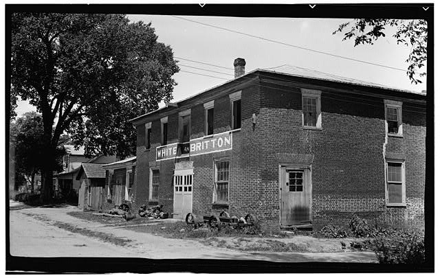 1.  Historic American Buildings Survey, Thomas T. Waterman, Photographer July, 1940. - White & Britton Store, Williams & Fifth Streets, Murfreesboro, Hertford County, NC
