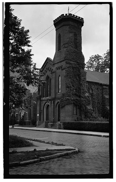 1.  Historic American Buildings Survey, Thomas T. Waterman, Photographer July, 1940. - Christ Church, Church & McMorine Streets, Elizabeth City, Pasquotank County, NC