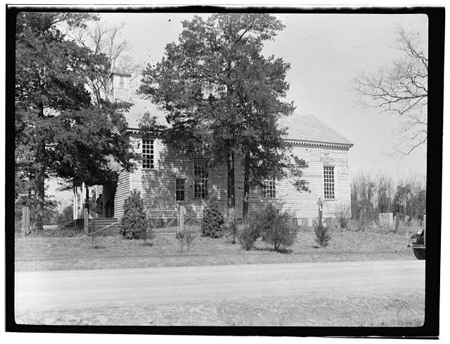 1.  Historic American Buildings Survey, Delos H. Smith, Photographer SOUTH ELEVATION. - St. John's Episcopal Church, State Route 1329, Williamsboro, Vance County, NC