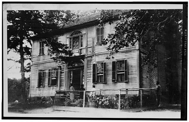 1.  Historic American Buildings Survey, c.1920. - Burnside Plantation, State Route 1335, Williamsboro, Vance County, NC