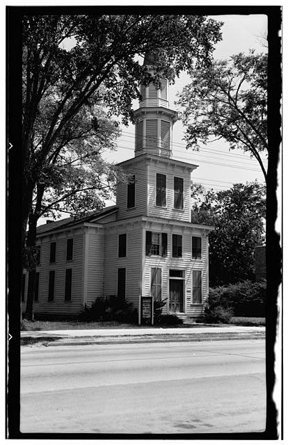 1.  Historic American Buildings Survey, Thomas T. Waterman, Photographer July, 1940. - Methodist Church, Murfreesboro, Hertford County, NC
