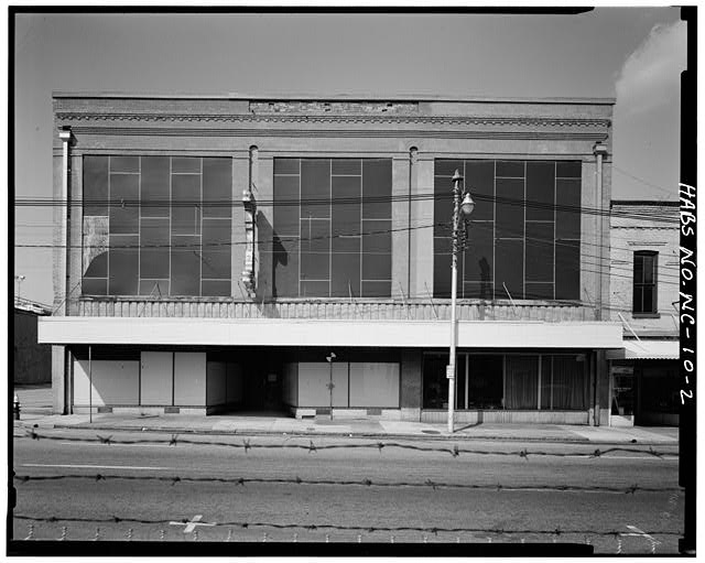2.  Front facade - Barber-Towler Building (Commercial Building), 123 East Martin Street, Raleigh, Wake County, NC