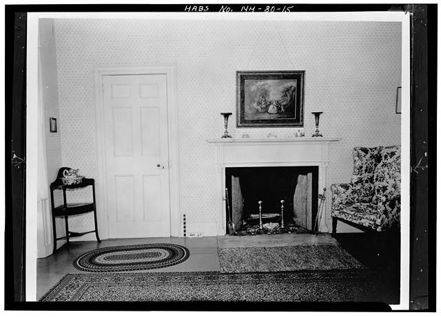15.  FIREPLACE, NORTHWEST BEDROOM, SECOND FLOOR - Wheeler House, Orford Street, Orford, Grafton County, NH