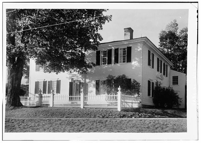 1.  GENERAL VIEW, FRONT - Pierce Homestead, State Route 31, Hillsboro, Hillsborough County, NH