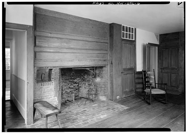 6.  DINING ROOM - Pierce Homestead, State Route 31, Hillsboro, Hillsborough County, NH