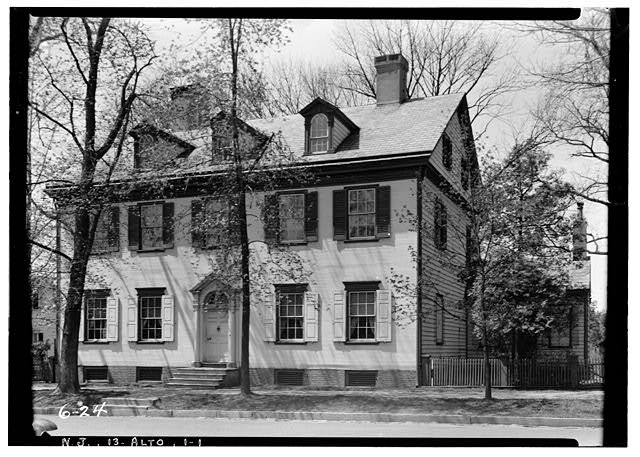 1.  Historic American Buildings Survey Nathaniel R. Ewan, Photographer April 28, 1936 EXTERIOR - SOUTHEAST ELEVATION - John Imlay Mansion, 28 South Main Street, Allentown, Monmouth County, NJ