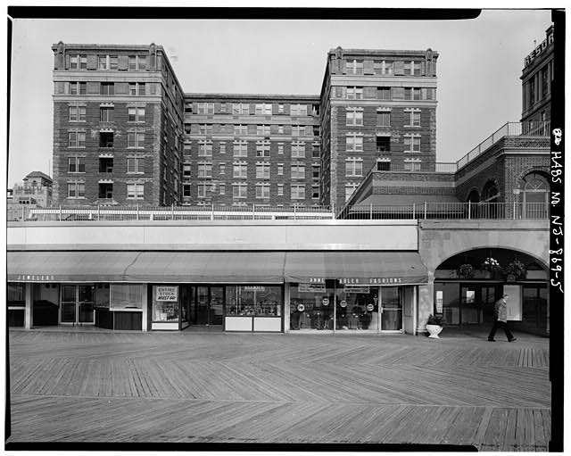 5.  BOARDWALK STORES, FASHION AND JEWELERS SHOP - Chalfonte Hotel, Pacific & North Carolina Avenues, Atlantic City, Atlantic County, NJ