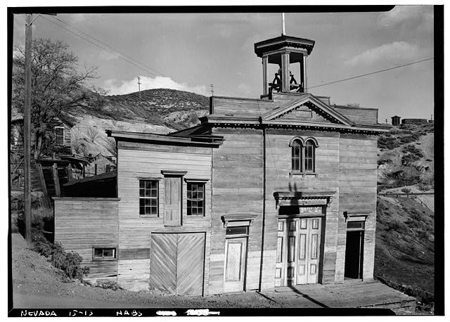 1.  Historic American Buildings Survey Robert W. Kerrigan, Photographer March 1937 - Liberty Fire House, Gold Hill, Storey County, NV