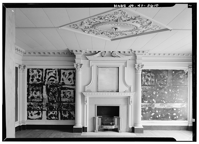 5.  Historic American Buildings Survey, May 1965, INTERIOR EAST ROOM, FIRST FLOOR. - Ansley Wilcox House, 641 Delaware Avenue, Buffalo, Erie County, NY