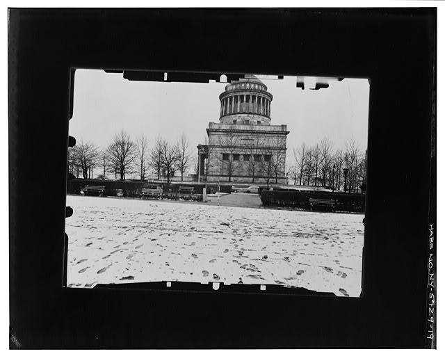 19.  EAST (SIDE) ELEVATION--LEVEL Copy photograph of photogrammetric plate LC-HABS-GS05-T-2564-103L. - Grant's Monument, Riverside Drive & West 122nd Street, New York, New York County, NY